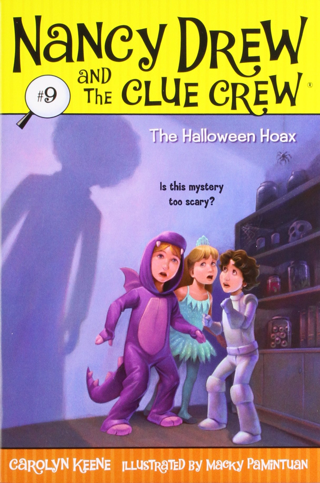 amazoncom the halloween hoax nancy drew and the clue crew 9 carolyn keene macky pamintuan books