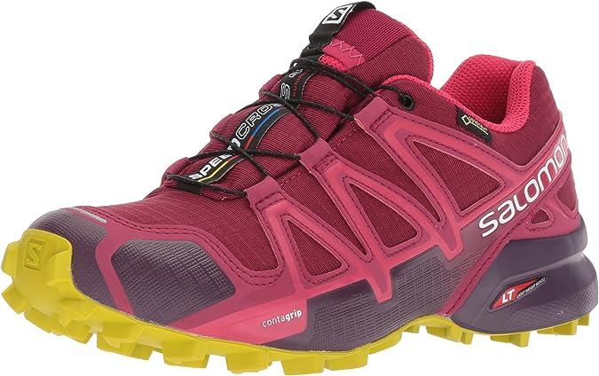 Salomon Speedcross 4 GTX, Zapatillas de Trail Running para Mujer ...