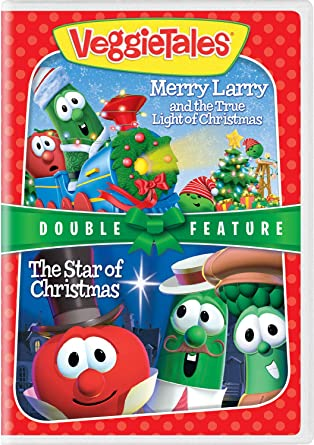Amazon.com: VeggieTales Holiday Double Feature: Merry Larry and the ...