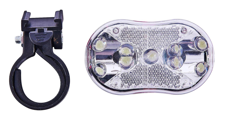 Am-Tech 9 luces LED Luz delantera para bicicleta