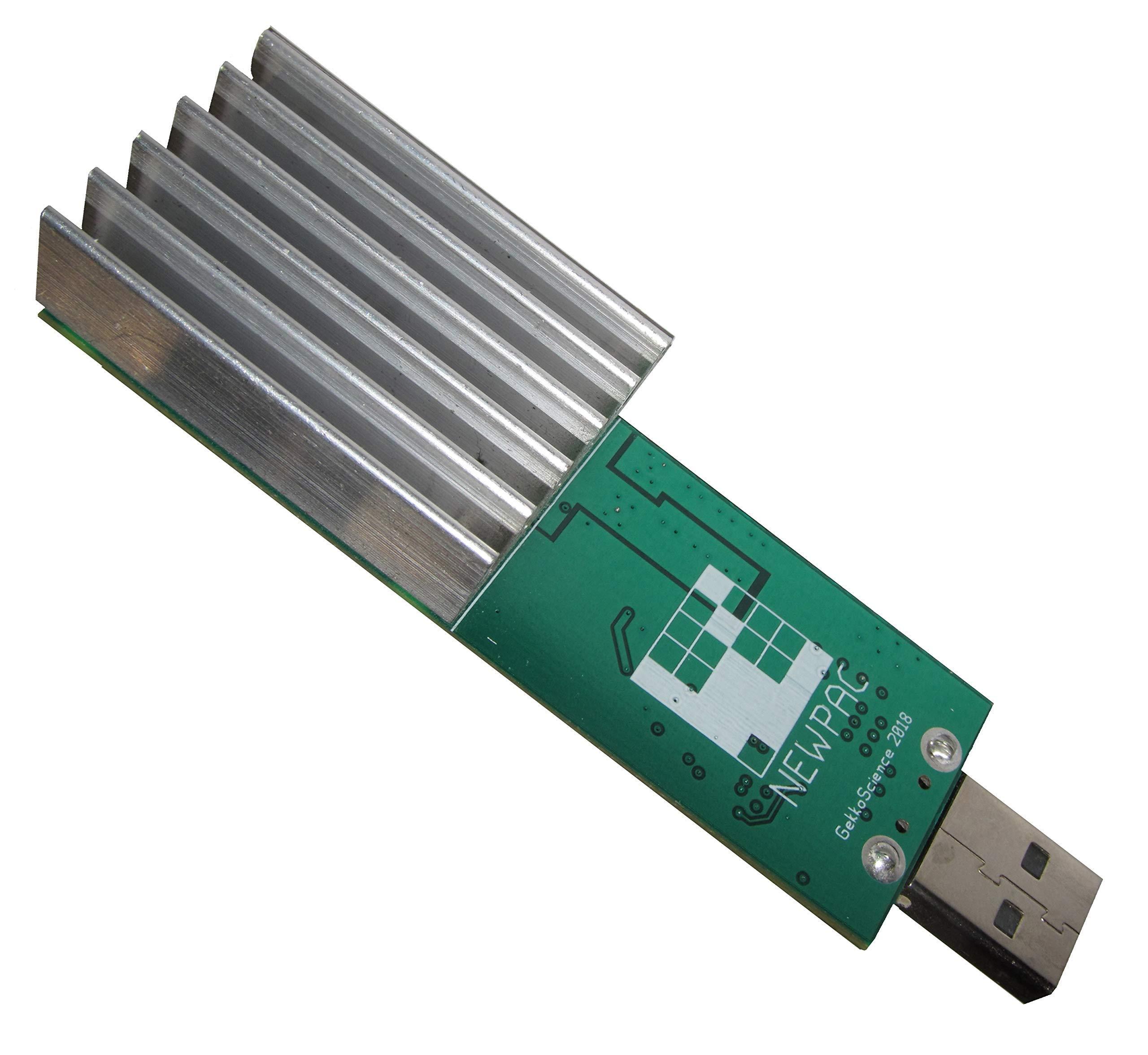 GekkoScience NewPac 130Gh/s+ USB Bitcoin / SHA256 Stick Miner ▪ Most Efficient, Powerful USB Miner on Market ▪ Mine Almost Any Crypto on Multi-Pool