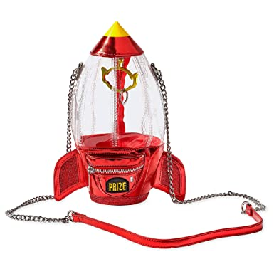 Amazon.com: Disney Pizza Planet Claw - Bolso bandolera ...