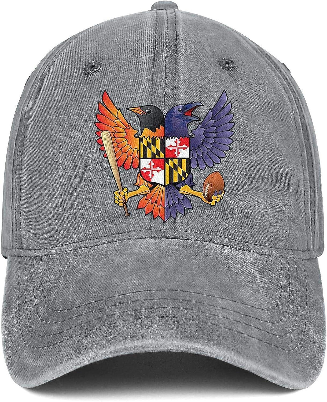 NSKJHYIp Unisex Cool Wash Cloth Dad Hat Unconstructed Barcelona USA Maryland SC Tennis Baseball Hat