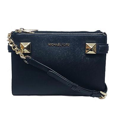 9012419b15a9 Michael Kors Karla Crossbody Black (35T8GKGC2L): Handbags: Amazon.com