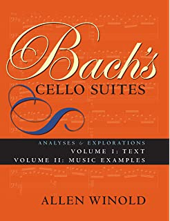 Amazon trills in the bach cello suites a handbook for bachs cello suites analyses and explorations vol 1 2 volumes fandeluxe Images