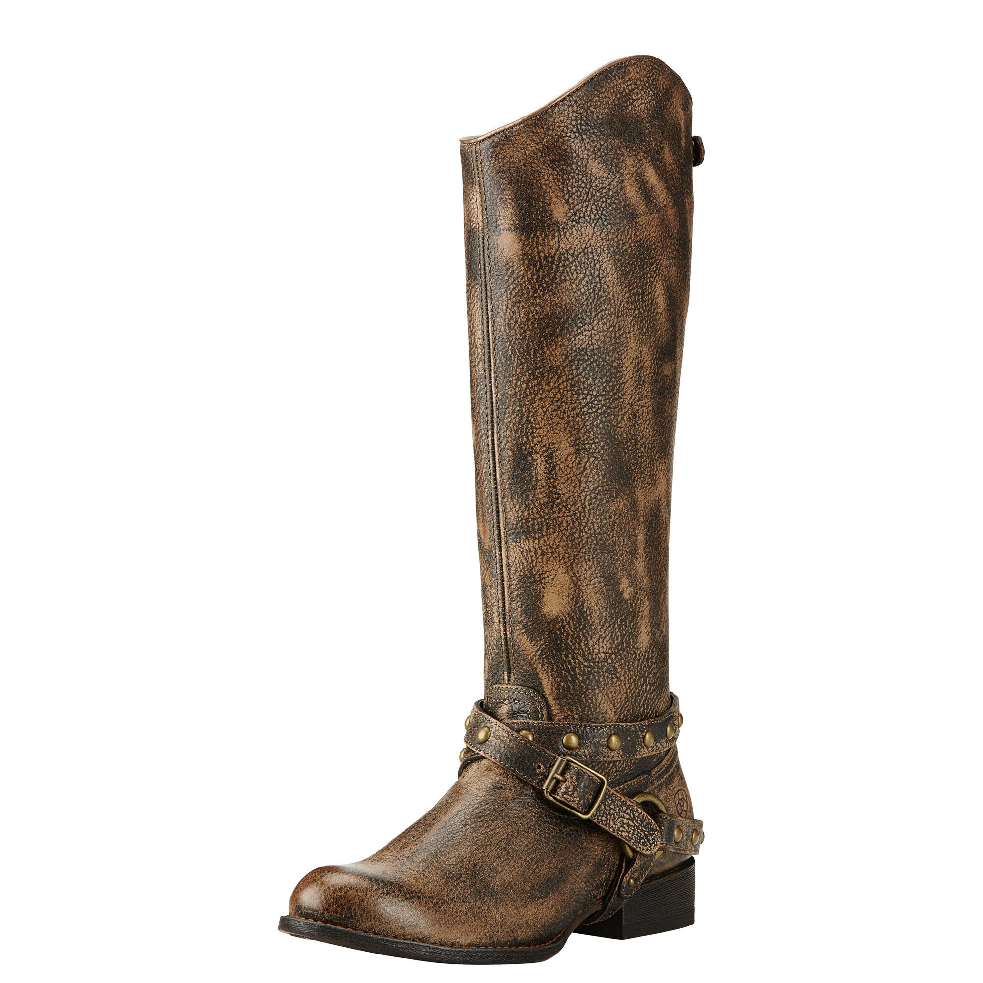 Ariat Womens Manhattan New West 6.5 B Brooklyn Brown