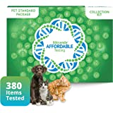 5Strands Pet Test, Standard Package 380 Items – Includes Food Intolerance & Environment Sensitivity Testing – at Home Health