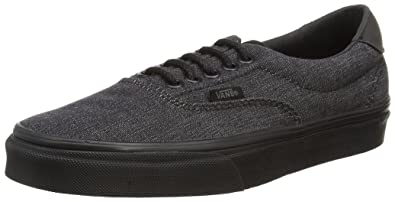 10943cfa70 Vans Mens Denim C L Era 59 Black Sneaker - 8