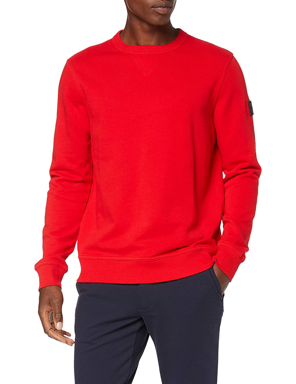 Rouge (Bright rouge 622) XXL BOSS Walkup Sweat-Shirt Homme