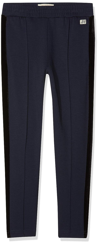 Scotch /& Soda Heavy Jersey Pants with Velvet Side Panels Pantaloni Bambina