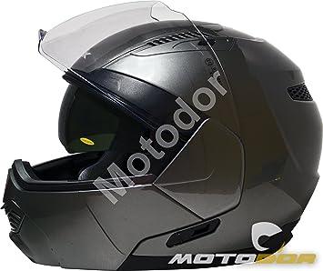 Motodor-Casco Moto Modular Spin + Visera Solar KSK (XL / 61-62cm