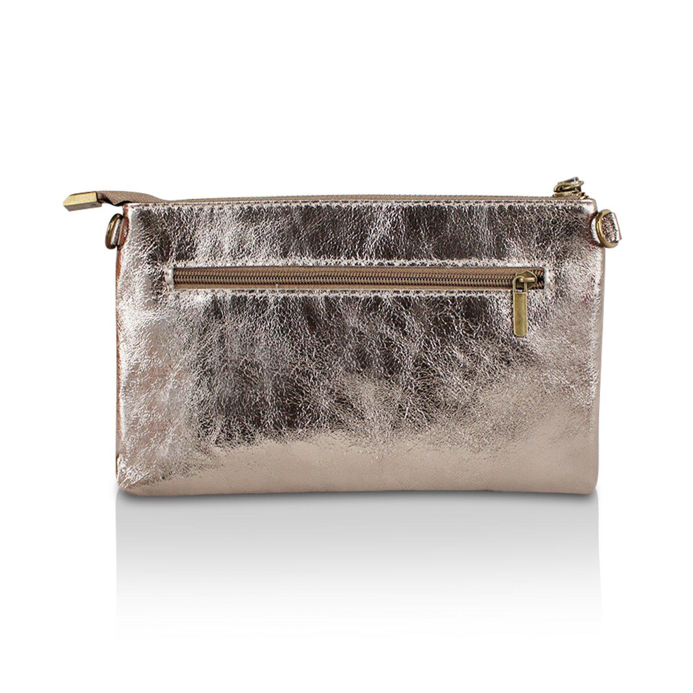 Glamexx24 Taschen Aus Echtem Leder Leder Leder Frauenhand Und Schulter Hergestellt in Italien B07B51K1KS Schultertaschen Bekannt für seine hervorragende Qualität 477f6d