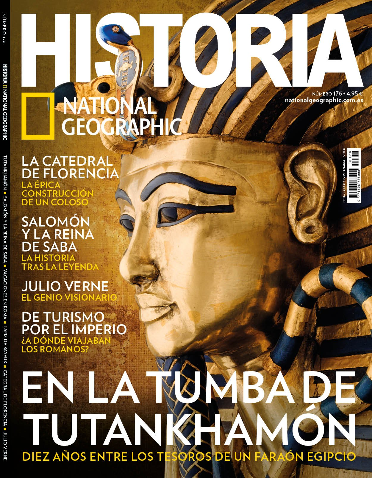Historia National Geographic Nro. 176. Agosto 2018: Amazon.es: National Geographic: Libros