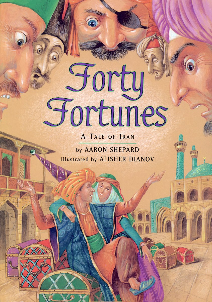 Forty Fortunes Tale Aaron Shepard product image