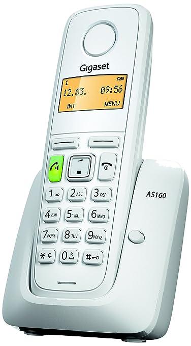 189 opinioni per Gigaset AS160 Telefono Cordless, Vivavoce, Sveglia, Batterie Lunga Durata,