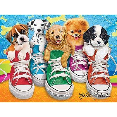 Kodak 350 Piece - Sneaky Pups: Toys & Games