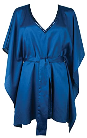 4783d7c32ead Calvin Klein Bejewelled Kaftan - Cobalt Blue S-M  Calvin Klein   Amazon.co.uk  Clothing
