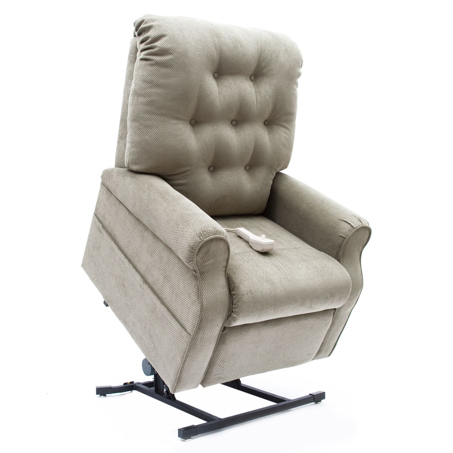 Amazon 3 Position Lift Chair with Chaise Pad Color Chocolate