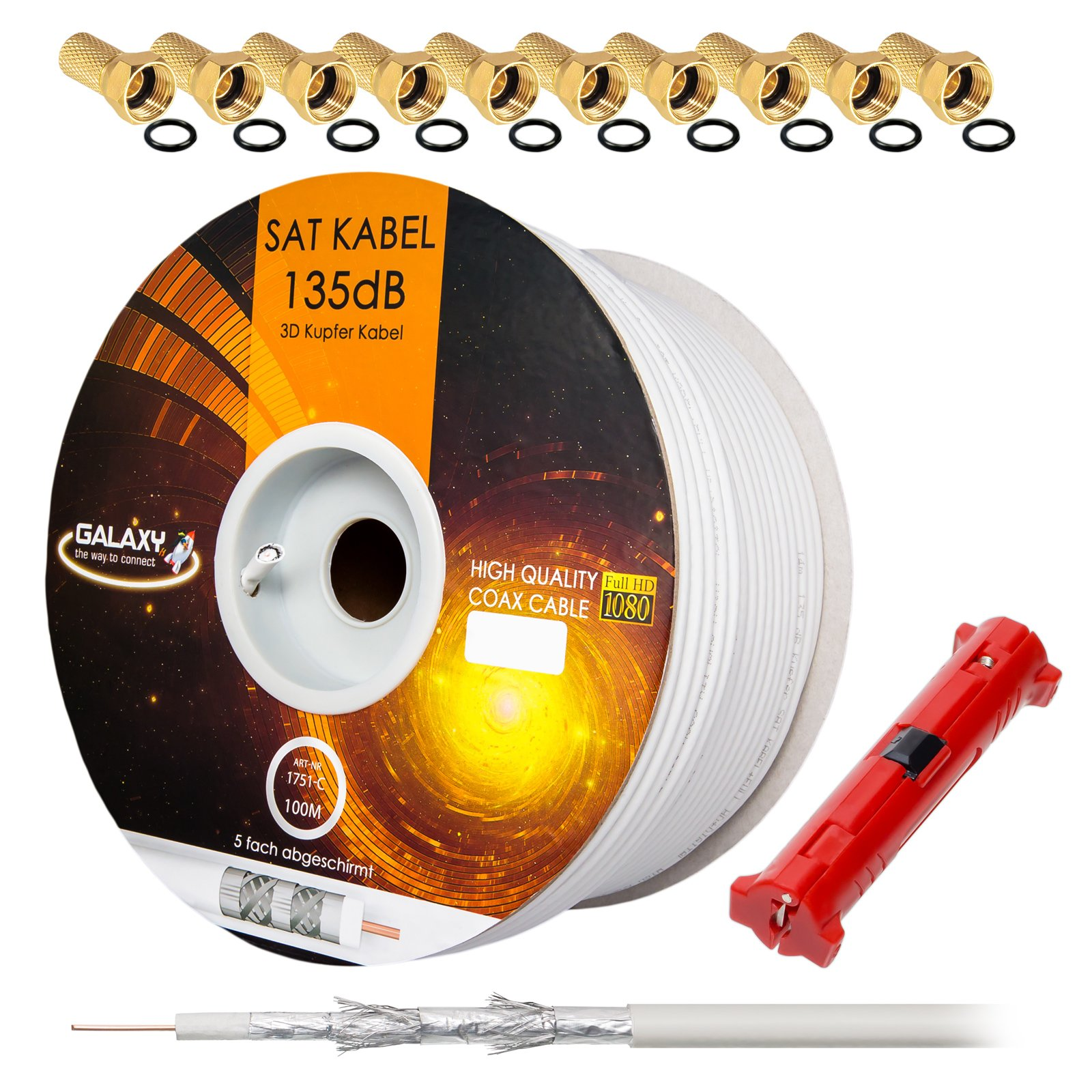 Cable de cobre puro