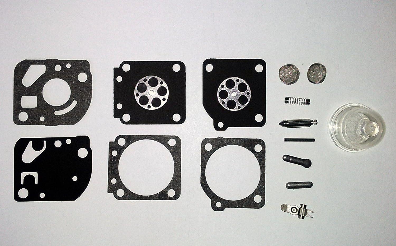 OEM GENUINE RB-73 Zama Carburetor Kit C1U-W series C1U-W4E C1U-W7C C1U-W7D