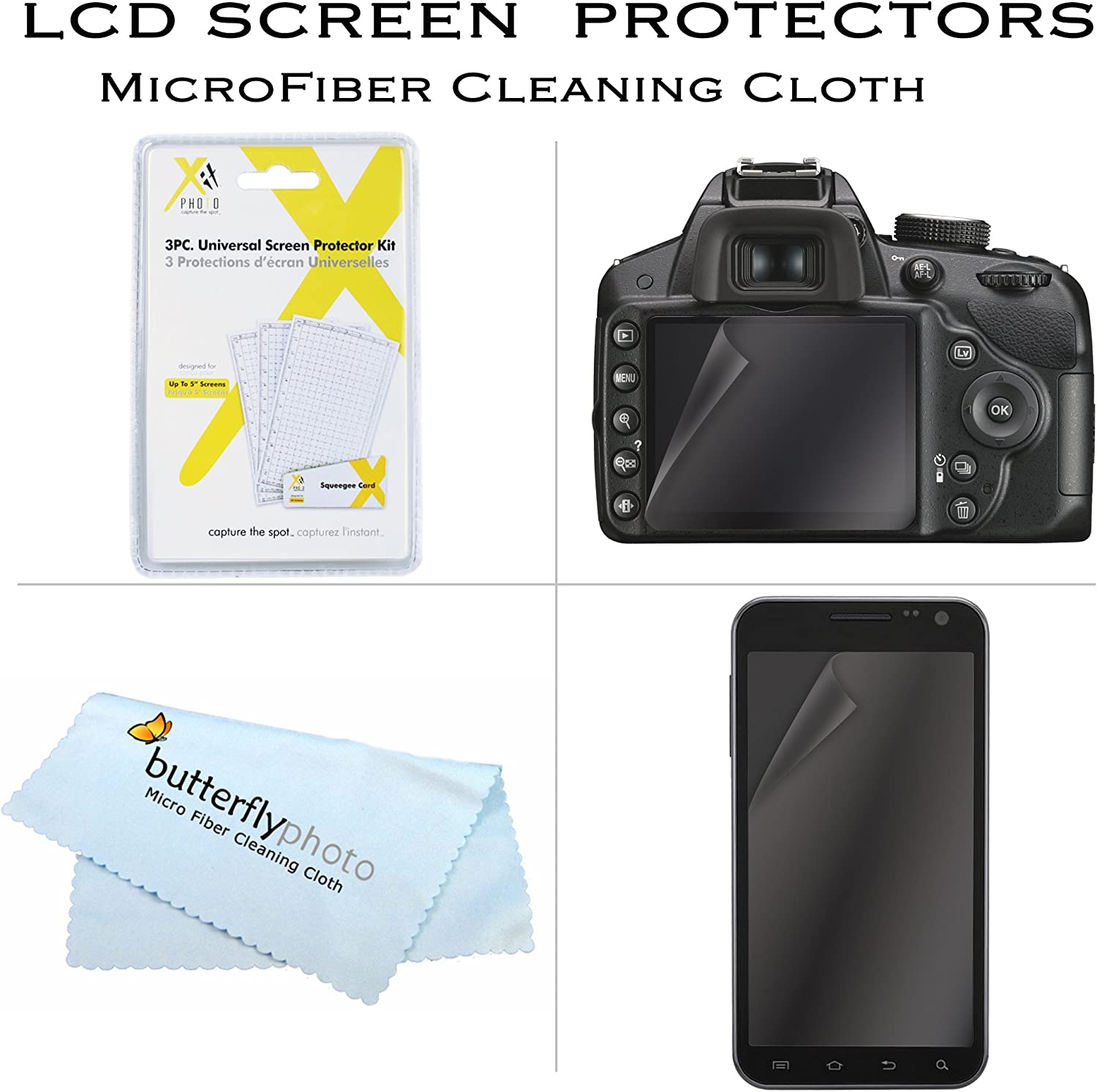 Mini TableTop Tripod SX410 IS LCD Screen Protectors Starter Accessories Kit For The Canon Powershot SX400 IS 50 Tripod With Case More SX420 IS Digital Camera Includes Deluxe Carrying Case