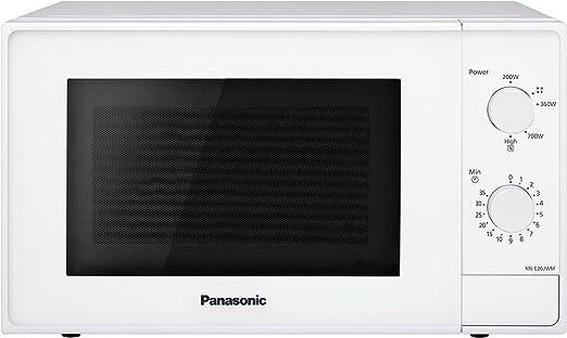 Panasonic NN-E20JWMEPG Microondas Compacto 20L (800 W, 2 Mandos ...