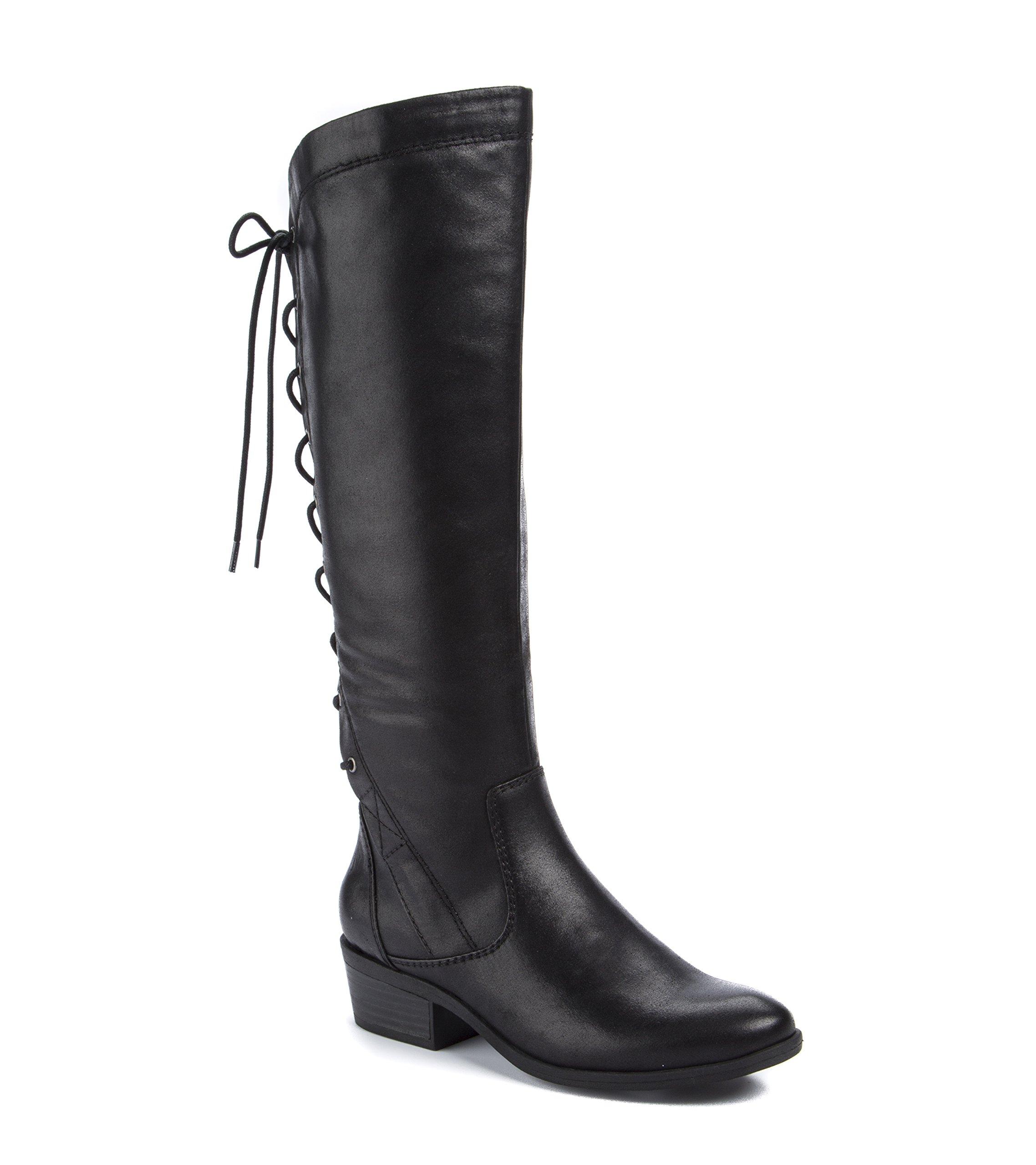 BareTraps Women's Bt Gardyna Riding Boot, Black, 8 US/8 M US