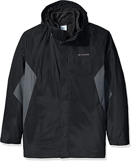 Columbia Mens Big and Tall Eager Air Big /& Tall Interchange Jacket