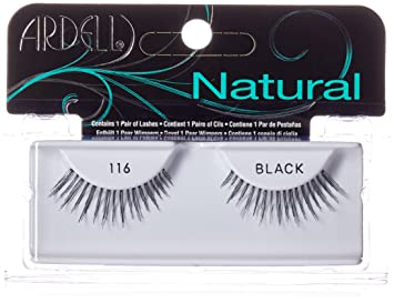 1fe0330113a Amazon.com : Ardell Fashion Lashes Pair Black - 116 (Pack of 4 ...
