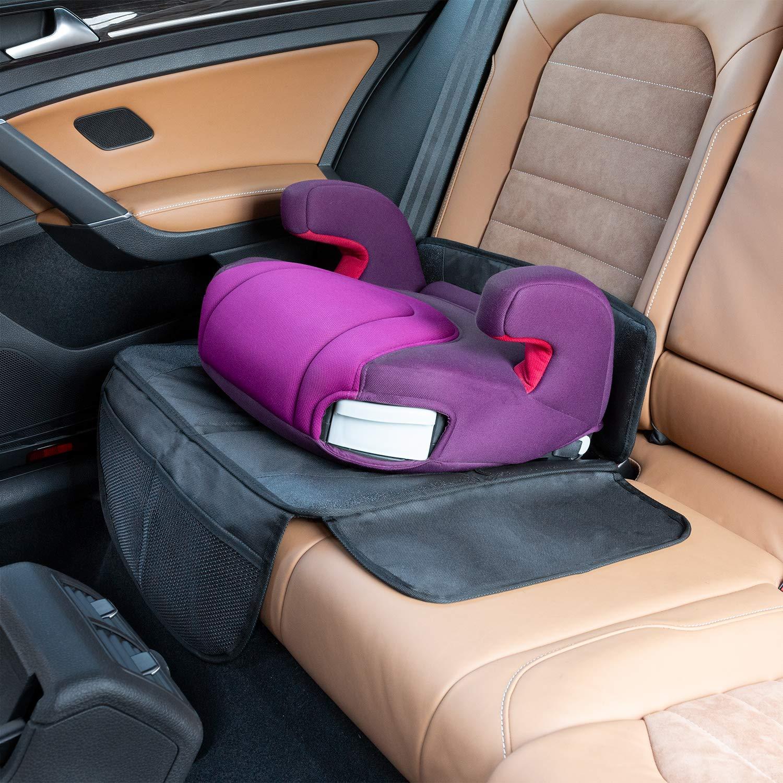 LIONSTRONG Kindersitzunterlage Sitzschoner zum Schutz Ihrer Autositze ISOFIX geeignete Unterlage f/ür Kindersitze