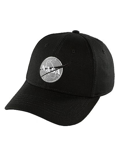 buy online f947d 21ea0 Alpha Industries Men Caps/Snapback Cap NASA Black Adjustable ...