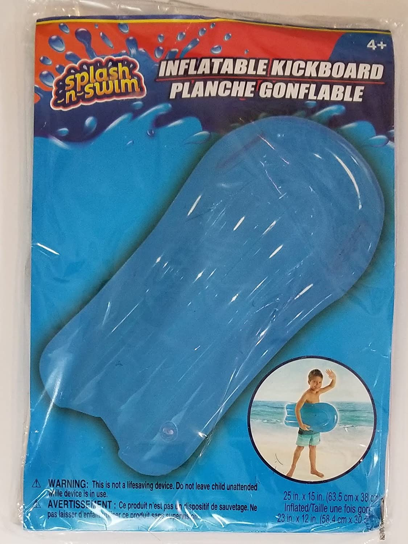 Splash N Swim Inflatable Kickboard For Kids 4+