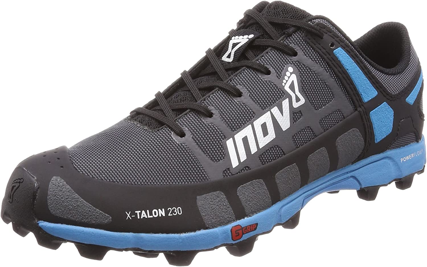 Inov-8 Mens X-Talon 230 – Lightweight OCR Trail Running Shoes – for Spartan, Obstacle Races and Mud Run