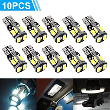 Qasim 10x G4 LED Bulbs White Non-Dimmable 5050 12SMD 110/° Beam Angel for Housing Indoor Camper Trailer Motorhome Marine Boat Replacement for Halogens DC 12V