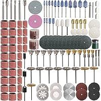 Roterande verktygstillbehörssats, SPTA 217 st multifunktionell roterande verktygssats 1/8 tum dremel roterande verktyg…