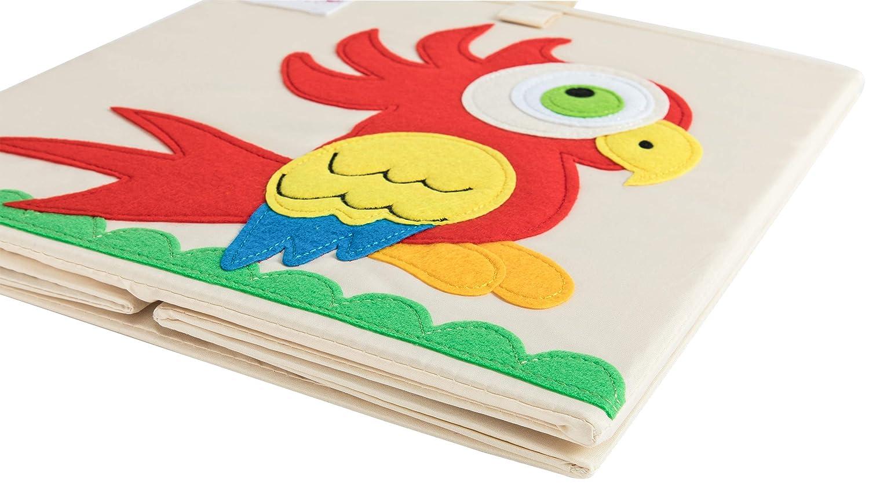Kleidung Koala Schuhe Aufbewahrungsbox ELLEMOI Aufbewahrungsboxen f/ür Kinderzimmer Gro/ße Kapazit/ät Faltbar Aufbewahrung Spielzeug