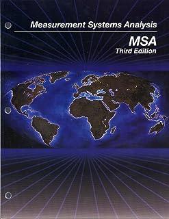 measurement systems analysis msa aiag 9781605342115 amazon com rh amazon com measurement system analysis manual pdf measurement system analysis reference manual