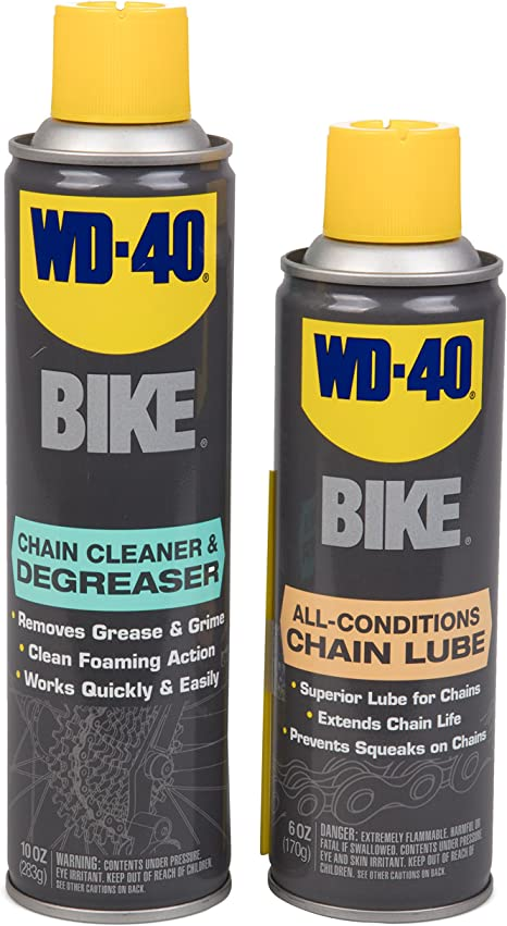 WD-40 All Conditions lubricante para Cadena de Bicicleta y ...