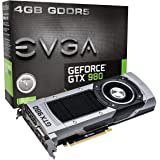 EVGA GeForce GTX 980 4GB GAMING,Silent Cooling Graphics Card 04G-P4-2980-KR