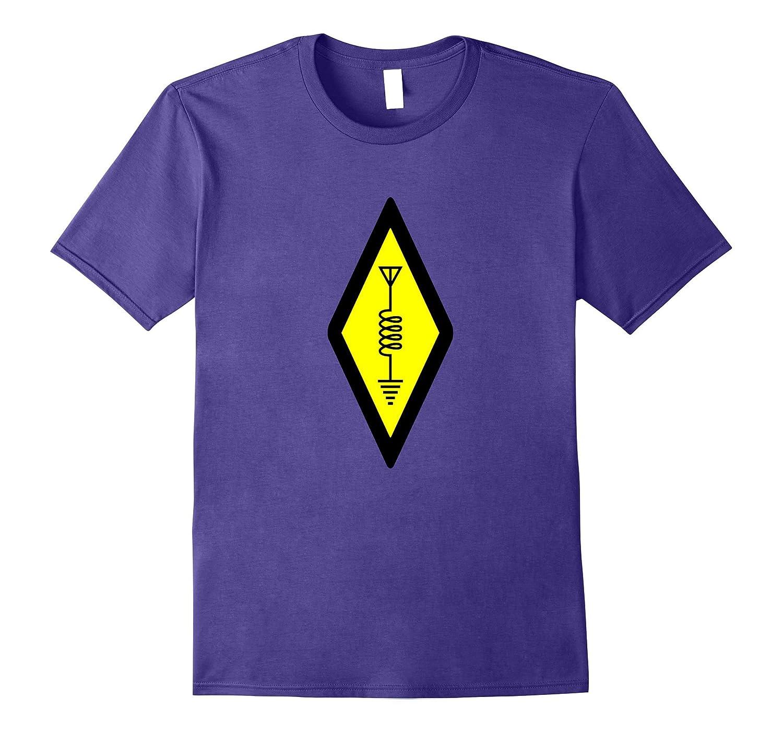 HAM International Amateur Radio Symbol Logo T-shirt-TH