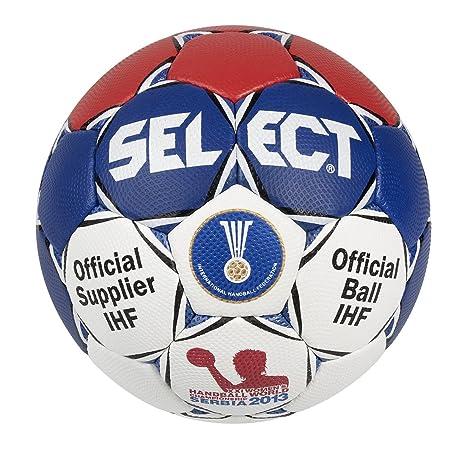 Select - Pelota de balonmano de competición weiß/rot/blau Talla:2 ...