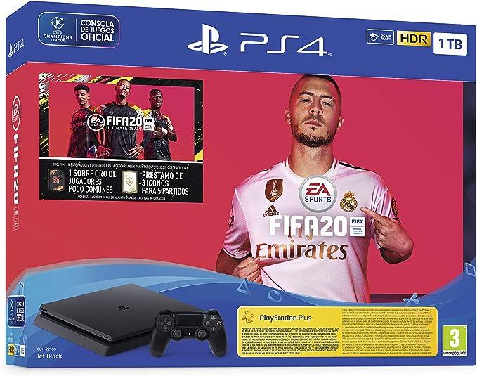 PlayStation 4 (PS4) +FIFA20/FUTVCH/PS y 14 días VCH/PS4 1TBF/SPA ...