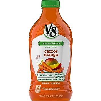 V8 Carrot Mango, 46 oz. Bottle