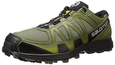 huge discount 8d82a a047d SALOMON Men s Fellraiser Trail Running Shoe,Nile Green Iguana Green Corylus  Green,
