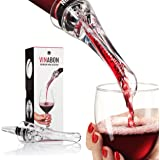Wine Aerator - Luxury 2018 Aerator Wine Pourer - Wine Aerator Pourer - Wine Pourer - Wine Spout - Red White in Bottle Wine Aerator Kit - Slow Mini Wine Decanter Diffuser Aerator - eBook Wine Guide