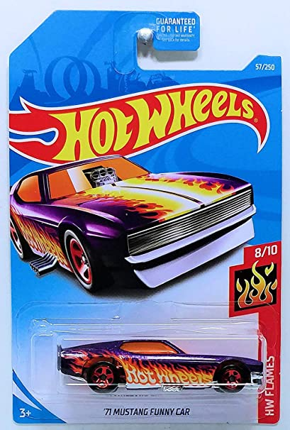 Buy Hot Wheels 2019 Basic Vehicle HW Flames: '71 Mustang