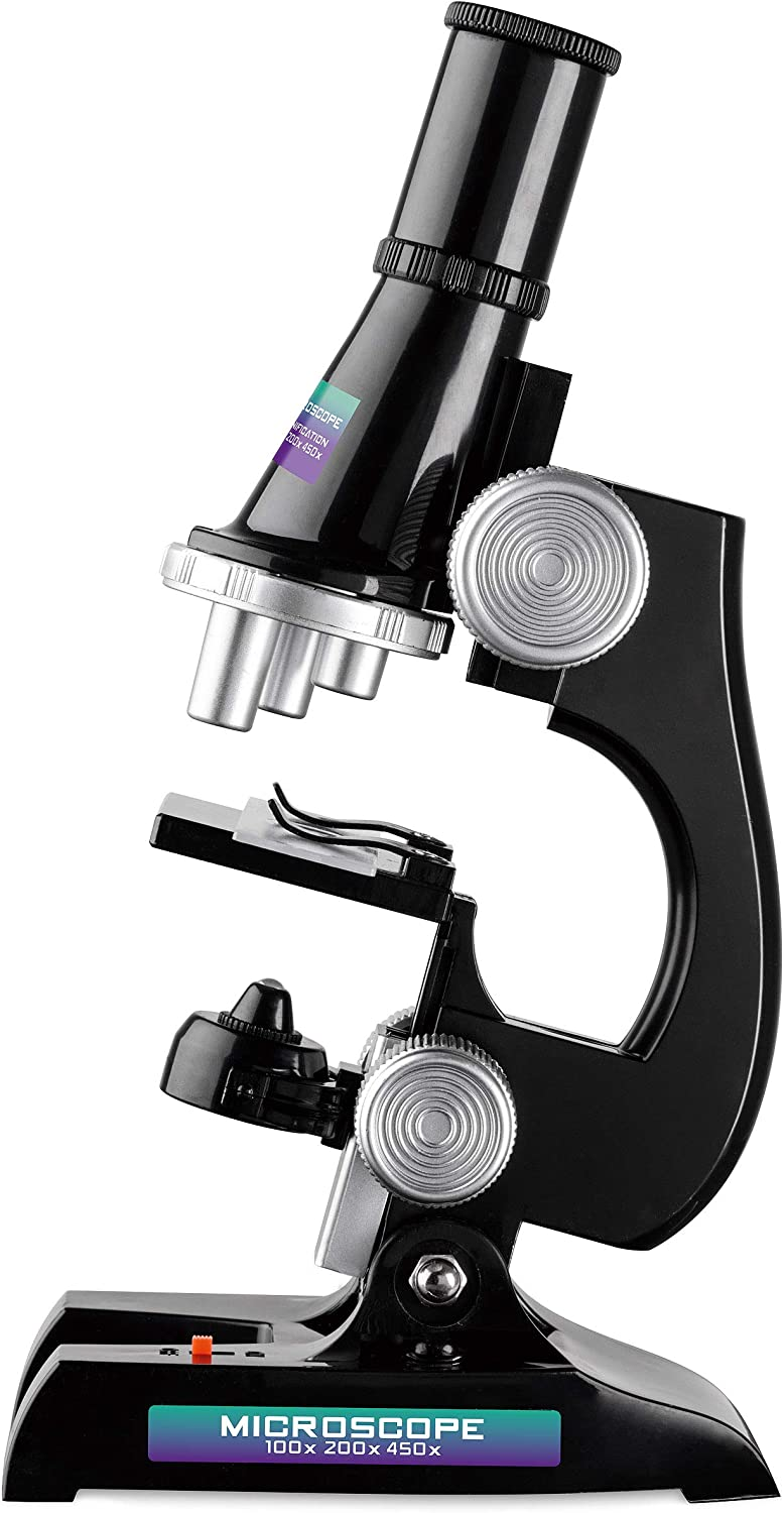 Toyrific Kids Microscope Wholesale Set Kit with Max 71% OFF Light and 450x 100x 200x