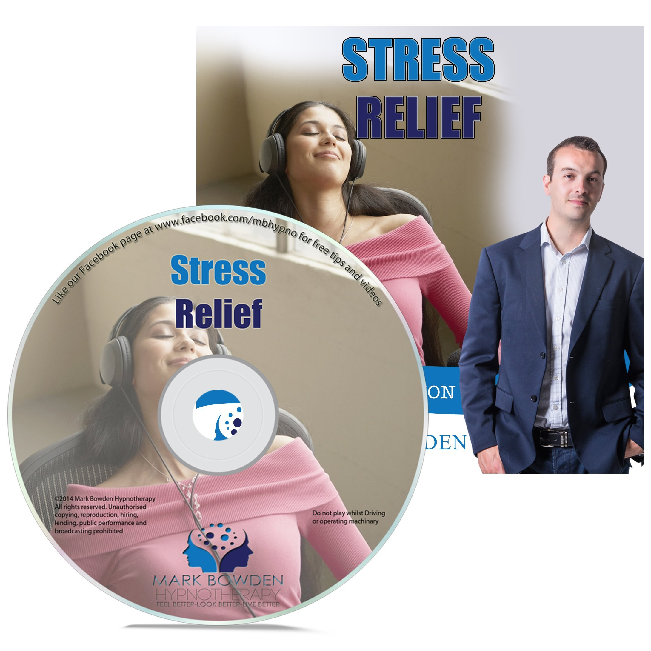 Amazon com: Stress Relief Self Hypnosis CD / MP3 and APP (3 in 1