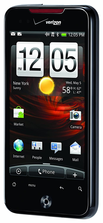 Amazon.com: HTC DROID Incredible, Black (Verizon Wireless): Cell Phones &  Accessories