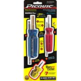 Picquic 88562 Carded Combo Pack with Sixpac Plus, Multique and Teeny Turner Drivers, Assorted, 3-Piece